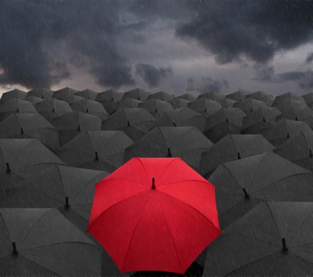 dissimilar: Rain 2 Stock Photo
