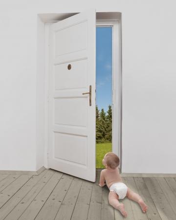 felicity: new idea Stock Photo