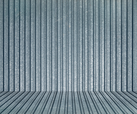 Corrugated sheet ,corrugated iron background Stock Photo