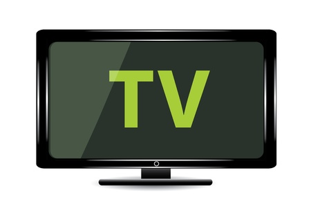 telly: Lcd tv monitor.