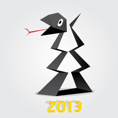Year of black snake