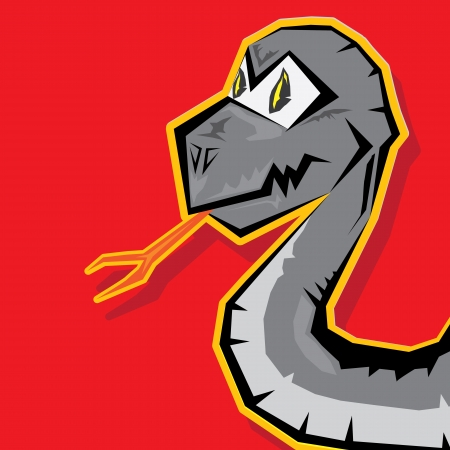 origami snake: Year of black snake