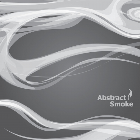 vector smoke grunge dark background Illustration