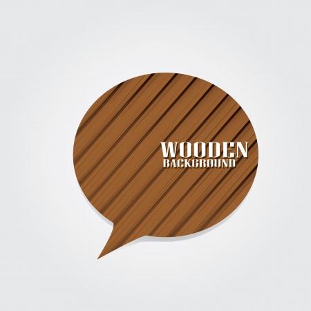 business backgound: vector wooden background for brochure or business card design.