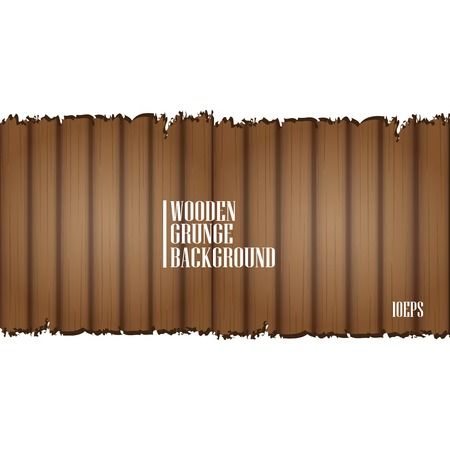 vector wooden background for brochure or business card design. Stock Vector - 23978206