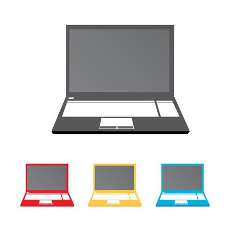 vector notebook icon set. Illustration