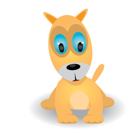 Cute dog vector illustration Vector