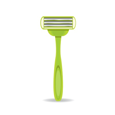 vector razor icon isolated on white, disposable razor. Stock Vector - 25118262