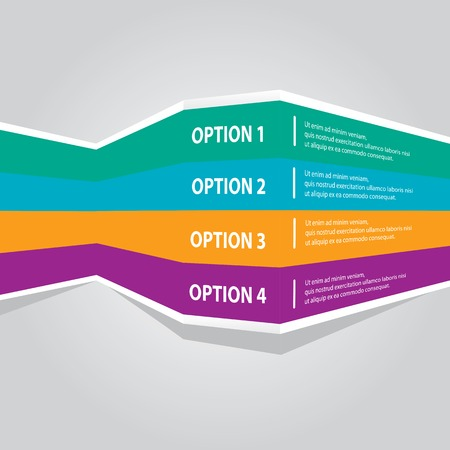 color choice: color vector Paper Progress product choice or versions