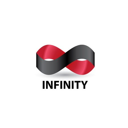 limitless: Limitless symbol icon on white background