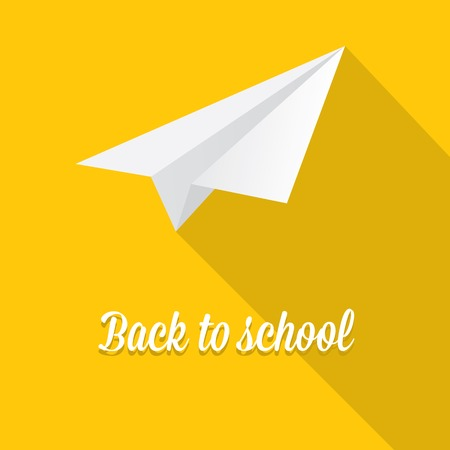 back to school vector concept illustration Vector