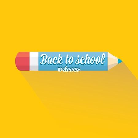back to school vector concept illustration Vector