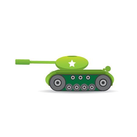 military tank: vector army tank. military tank. army machine.