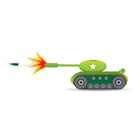 tanque de guerra: tanque del ej�rcito del vector. tanque militar. m�quina ej�rcito.