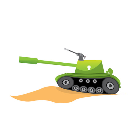 trooper: vector army tank. military tank. army machine.