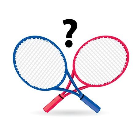 tennisball: vector sport equipment. tennis racket.