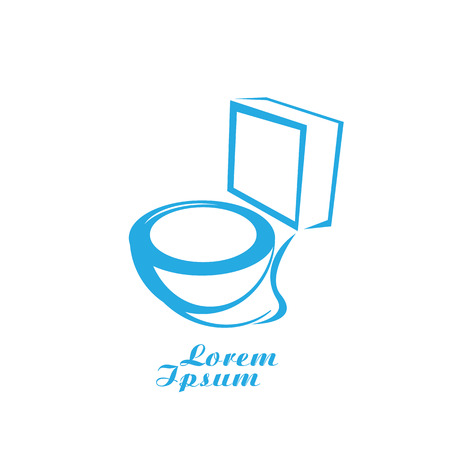 bidet: vector Toilet symbol. toilet sign