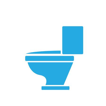 signs and symbols: vector Toilet symbol. toilet sign