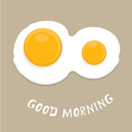 fried: Fried Egg vector illustration.   Illustration