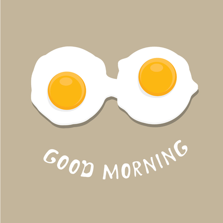 fried: Fried Egg vector illustration