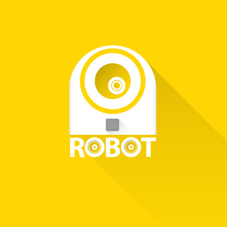 robot head: funny robot head design. vector robot head Illustration