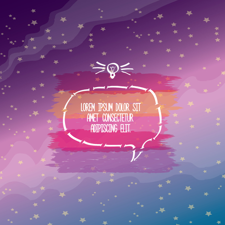 stipes: Vector Typography Banner Design Concept. Motivation Quote abstact design template. vector Speech bubble for text Illustration