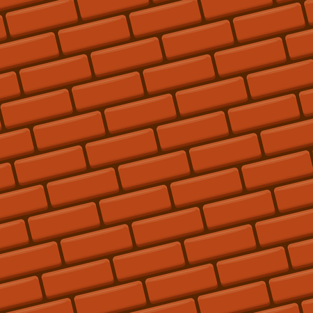 concrete block: red brick wall vector background. red brick wall seamless pattern vector backdrop or layout