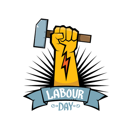 1 may - labour day. vector labour day poster