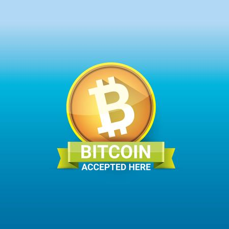 vector Bitcoin symbol. bitcoin icon