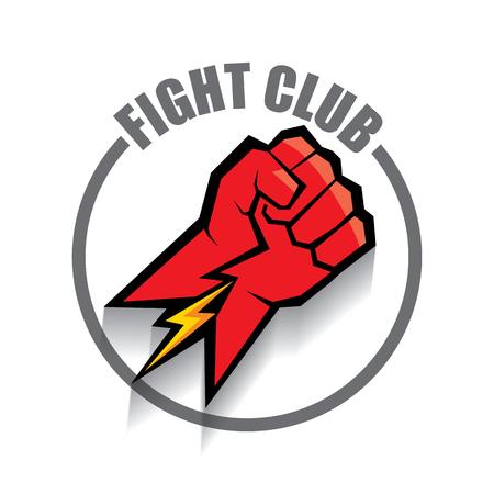 mma logo stock photos royalty free business images rh 123rf com fighting illini logos fighting sioux logos