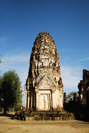 Ancient Buddha Pagoda Temple Stock Photo - 7617894