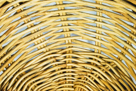 pattern of weave basket background texture photo