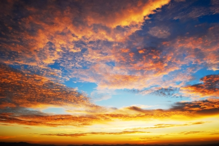 beautiful twilight sunrise sky photo