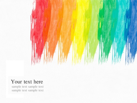 abstract water color paint colorful background Stock Photo - 8993128