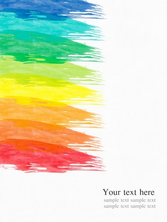 abstract water color paint colorful background