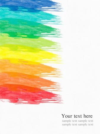 ink sketch: acqua astratto colore vernice sfondo colorato Archivio Fotografico