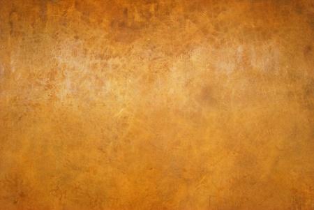vintage grunge old orange wall background texture