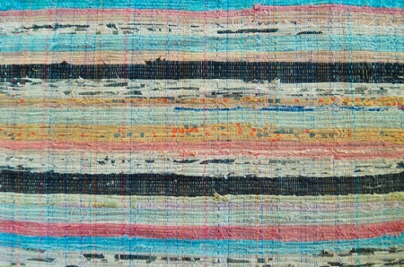 indigen: Vintage old colorful fabric texture background Stock Photo