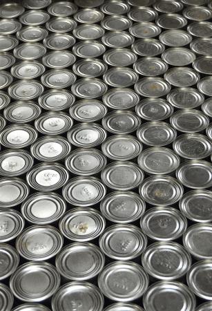 Aluminium Cans in factory warehouse photo