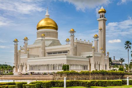 ali: Beautiful View of Sultan Omar Ali Saifudding Mosque, Bandar Seri Begawan, Brunei, Southeast Asia