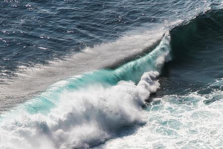 dreamland: Detail of Big Colorful Ocean Waves near Dreamland Beach - Bali, Indonesia