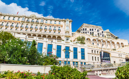 View of Hotel Hermitage and Surrounding Buildings in Monte Carlo During Sunny Day-Monte Carlo, Monaco