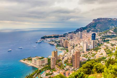 carlo: Scenic View Of Monte Carlo During Cloudy Day-Monte Carlo,Monaco