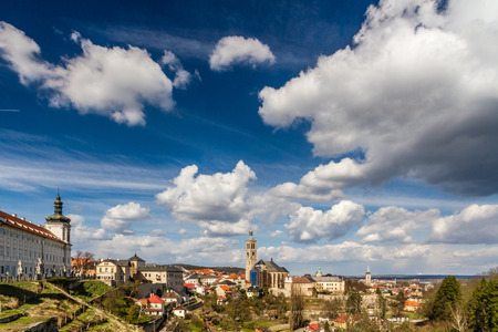 jesuit: View Of Church of St. James And Jesuit College-Kutna Hora,Czech Republic,Europe