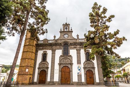 mariano: Basilica de Nuestra Senora del Pino - Teror, Gran Canaria, Canary Island, Spain, Europe Editorial
