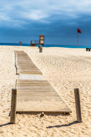 corralejo: Lifeguard Tower On Corralejo Beach - Corralejo, Fuerteventura, Canary Islands, Spain