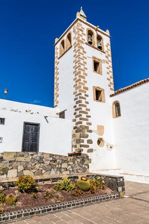Tower Of Iglesia Catedral de Santa Maria de Betancuria - Betancuria, Fuerteventura, Canary Islands, Spain