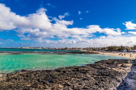 rocky coastline: Rocky Coastline - Corralejo, Fuerteventura, Canary Islands, Spain