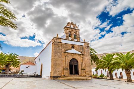 pena: Nuestra Senora De La Pena Church - Vega de Rio Palmas, Fuerteventura, Canary Islands, Spain, Europe