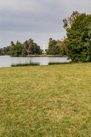 moravia: Minaret in Lednice Castle Park - Lednice park, Czech Republic